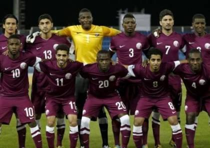 قطر ستلعب مع فلسطين بافتتاح بطولة غرب اسيا