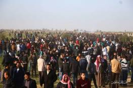 إصابات برصاص الاحتلال للمشاركين في مسيرات العودة