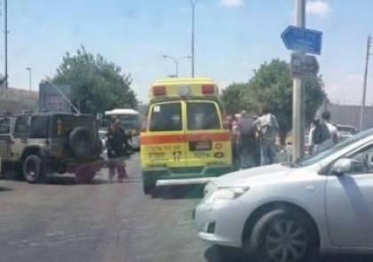 الخليل: اطلاق نار على مركبة بزعم محاولة دهس واعتقال السائق