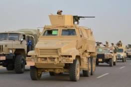 الجيش المصري يعلن حصيلة عملياته المتواصلة في سيناء