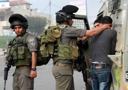 قوات الاحتلال تعتقل 5 مواطنين من قلقيلية