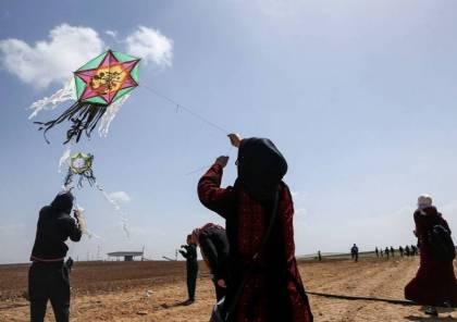 أشكول تشتكي من الطائرات الورقية القادمة من غزة