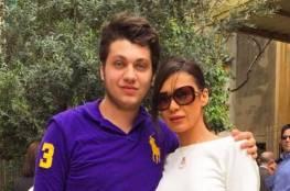 فيديو.. نادين الراسي تتعرض للضرب من ابنها مارك