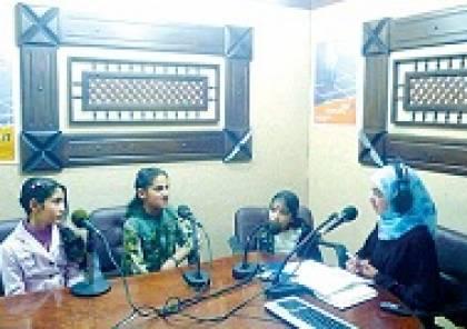 """""""نساء اف ام"""" أول محطة إذاعية نسائية في الأراضي الفلسطينية"""