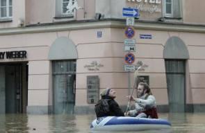 الفيضانات تجتاح اوروبا الوسطى