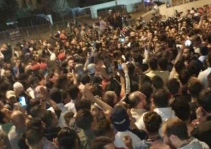 """الأردن : وقفة احتجاجية تطالب برحيل الحكومة والبرلمان و""""رفع القبضة الأمنية"""""""