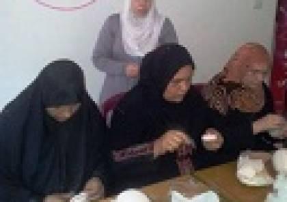غزة : برنامج العون والامل ينظم الورشة ال 25 للاثداء الصناعية