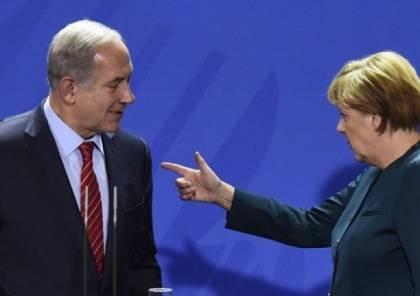 """ميركل: """"حل الدولتين"""" هو الأمثل لحل الصراع الفلسطيني الإسرائيلي"""