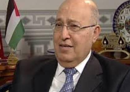 """شعث: خطاب الرئيس """"ليس لغز"""" وجهود بلير منيت بـ""""الفشل"""" ..وحكومة ظل بغزة"""