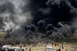 هل استخدم الاحتلال أعيرة نارية ضد متظاهري غزة أشد فتكاً وانفجاراً من ذي قبل؟