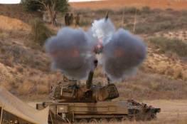 مدفعية الاحتلال تستهدف مرصدين للمقاومة شرق القطاع دون اصابات
