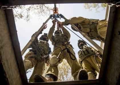 """بالفيديو : خوف وحدة """"يهلوم"""" بالجيش الإسرائيلي من دخول أنفاق غزة"""