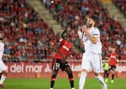 ريال مدريد يتلقى صفعة قوية من ريال مايوركا