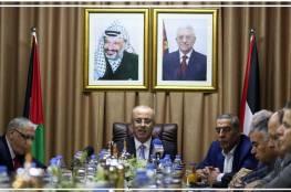 """المونيتور العبري.. اوساط فتحاوية تدفع بـ"""" الحمد الله """" كمرشح لخلافة أبو مازن"""