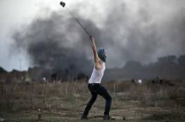 اصابات في مواجهات مع الاحتلال على حدود غزة