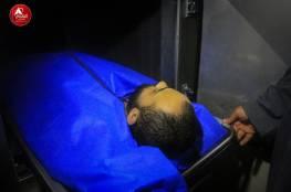 """صور : وصول جثمان الزميل الصحفي أحمد أبو حسين الى غزة عبر """" ايرز """""""