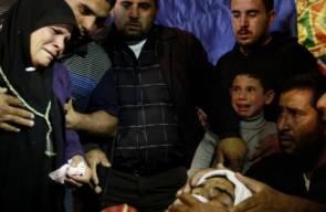 تشييع جثمان الشهيد احمد ردايدة في بيت لحم