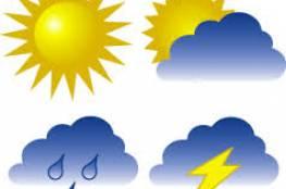 حالة الطقس: درجات الحرارة أعلى من معدلها العام