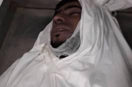 صور.. استشهاد شاب 30 عاما اثر حادث عرضي بدير البلح وسط القطاع
