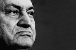 مبارك: لم اوافق على توطين فلسطينيين في سيناء