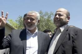 """انضمام ابو مرزوق والرشق لوفد حماس بالعاصمة المصرية """"القاهرة"""