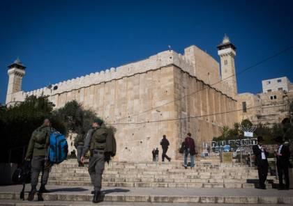 الاحتلال: مفاوضات مع السلطة لترميم منطقة الحرم الإبراهيمي