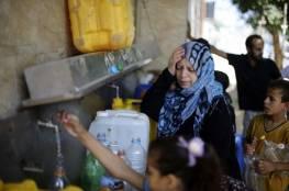 دراسة أمريكية : أكثر من ربع الأمراض في قطاع غزة ناتجة عن تلوث المياه