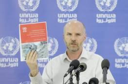 القائم باعمال مدير عمليات الاونروا الجديد بغزة يكشف عن موعد صرف التعويضات لأصحاب البيوت المدمرة