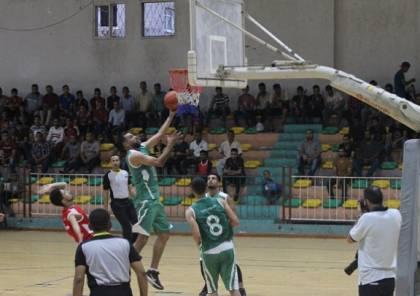 فوز ثمين لخدمات رفح على المغازي في كرة السلة