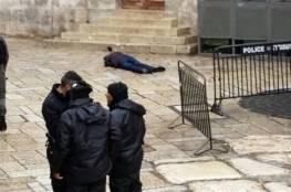 صور ..إصابة شرطيين إسرائيليين في عملة طعن بالقدس واستشهاد المنفذ