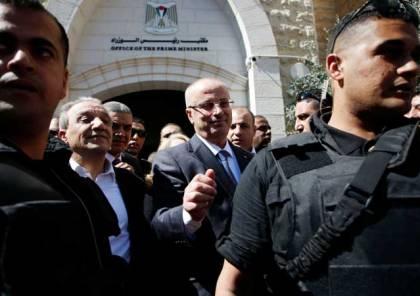 الداخلية تنفي ارسال وفد الى غزة للتحقيق بتفجير موكب الحمدالله