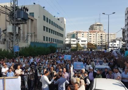 اتحاد موظفي الاونروا في الضفة وغزة يعلق الاحتجاجات لمدة عشرة ايام