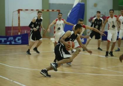 غزة الرياضي يهزم جمعية الشبان في دوري السلة