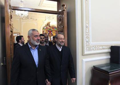 هل ستجدد حماس علاقتها بايران بعد مهاتفة لاريجاني هنية اليوم؟