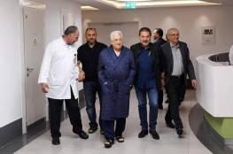 ماذا قال العالول حول اخر التطورات الصحية للرئيس عباس ؟