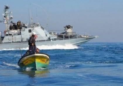 بحرية الاحتلال تستهدف الصيادين في غزة