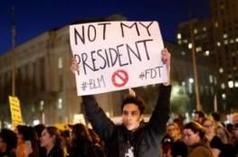 مقتل اول امريكي باحتجاجات ضد ترامب