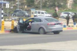فيديو: الاحتلال يطلق النار على فتاة فلسطينية بزعم محاولتها تنفيذ عملية دهس جنوب بيت لحم