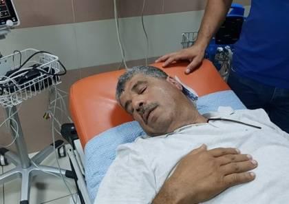 إصابة الوزير وليد عساف برصاصة مطاطية بالأذن بالضفة