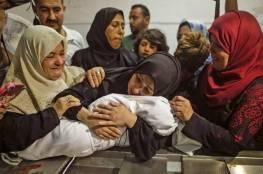 صور: استشهاد 3 فلسطينيين بينهم رضيعة شرق غزة يرفع عدد الشهداء الى 61