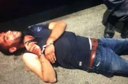 فيديو ..الشرطة الإسرائيلية تعتدي على شبان من رهط