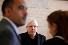 غريفيث يبحث مع الحوثيين في مسقط سبل تنظيم مفاوضات سلام جديدة