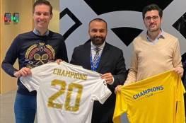 سابقة في تاريخ الرياضة الفلسطينية... غزة: اكاديمية تشامبيونز توقع اتفاقية شراكة وتعاون مع نادي ريال مدريد