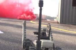 شاهد الفيديو: روبوت عسكري إسرائيلي لمواجهة أنفاق المقاومة