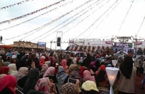 عرس جماعي بغزة - فلسطين