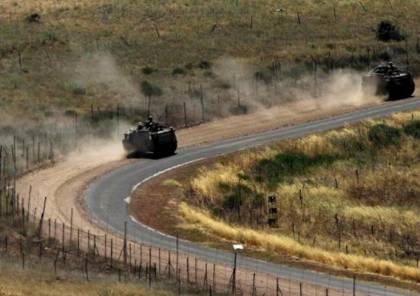 القبة الحديدية للاحتلال تطلق صواريخها بعد إنذار كاذب في الجولان
