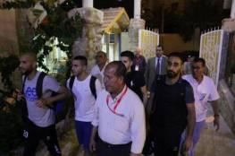 توقعات بوصول الدفعة الثانية من لاعبي هلال القدس الى غزة اليوم