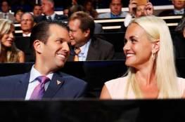 زوجة نجل الرئيس ترامب ترفع دعوى طلاق أمام محكمة في نيويورك