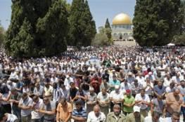 40 ألف فلسطيني أدوا صلاة الجمعة في الأقصى