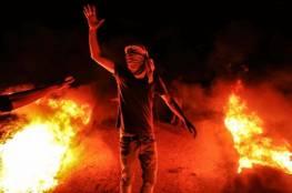 عودة فعاليات الارباك الليلي على حدود قطاع غزة
